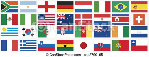 Nationale Flaggen - csp3790165