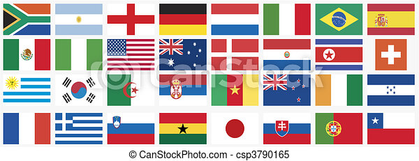 national flags   - csp3790165