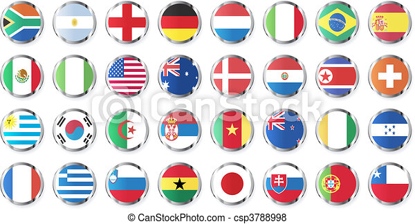 national flags of countries - csp3788998