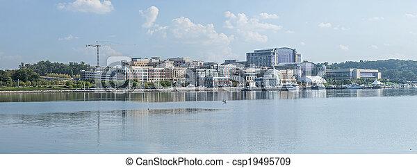 National Harbor, Maryland - csp19495709