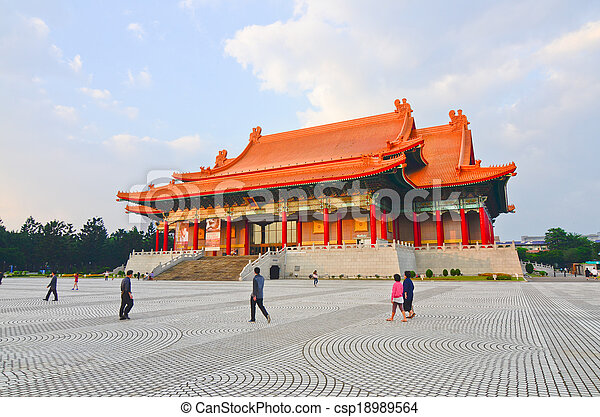 National music Hall of Taiwan - csp18989564
