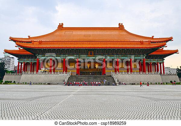 National music Hall of Taiwan - csp18989259