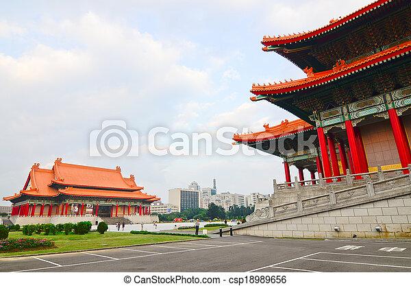 National music Hall of Taiwan - csp18989656
