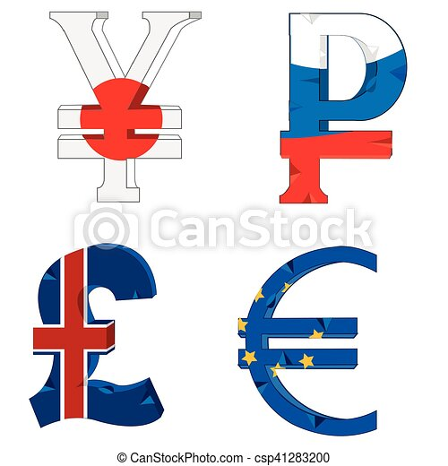 National Symbols Of The Money Signs And Symbols Of The Money Of The