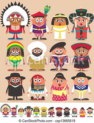 Nationalities Part 3 - csp13665618