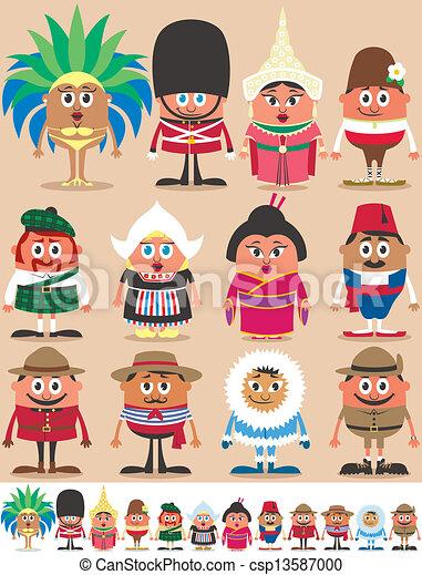 Nationalities Part  - csp13587000