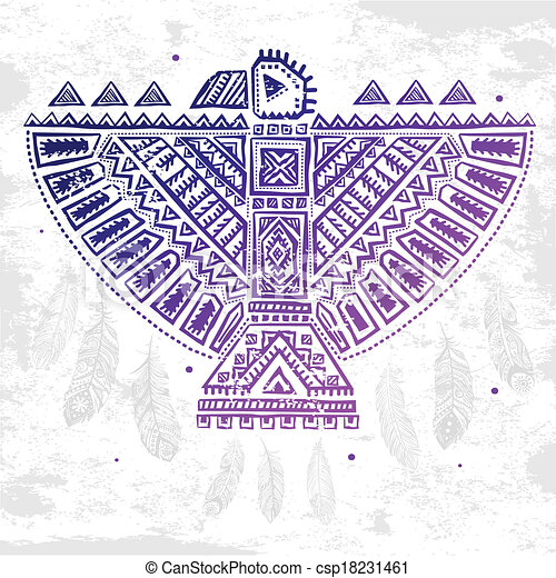 Native american eagle illustration vintage native american eagle native american eagle illustration m4hsunfo