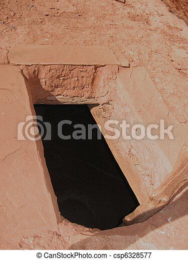 Native American Historic Anasazi Ruin - csp6328577