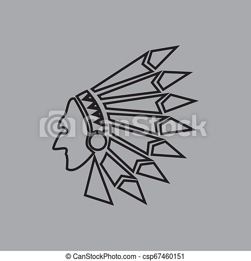 Native American Indian - csp67460151