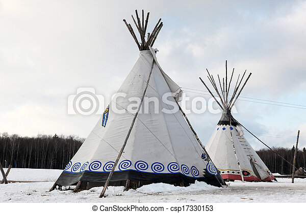 Native Indian tee-pee - csp17330153