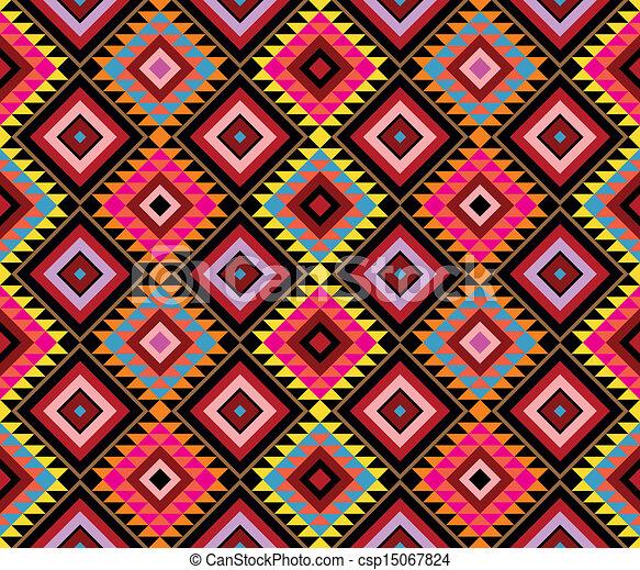 Clip Navajo Pattern Art 7