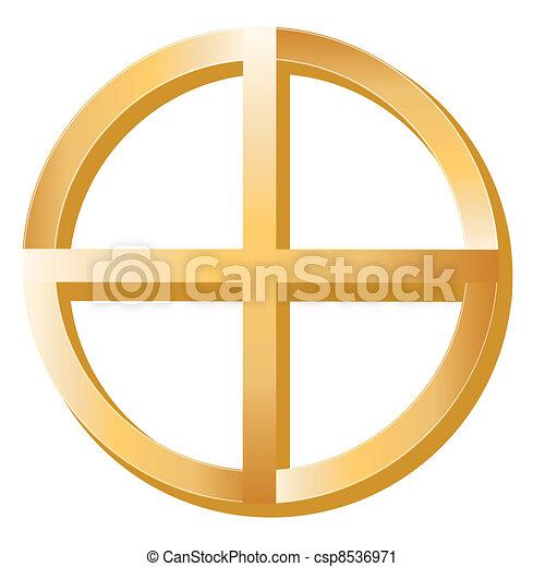 Native Spirituality Symbol - csp8536971