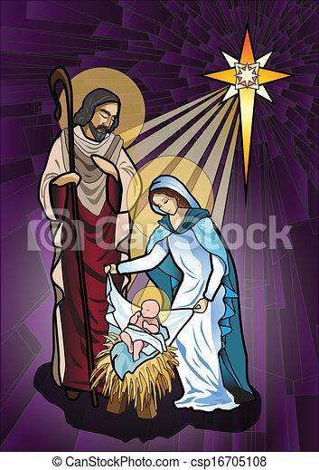 Natividad - csp16705108