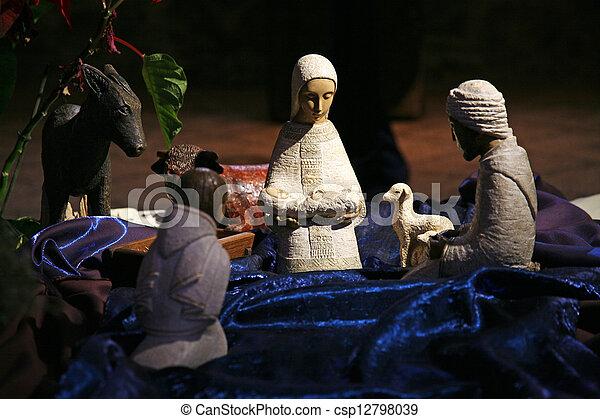 nativity, 乗算, 現場, 教会, tabgha - csp12798039