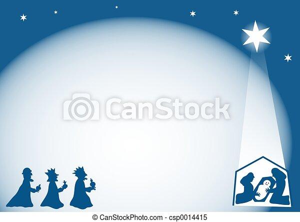 Nativity Border - csp0014415