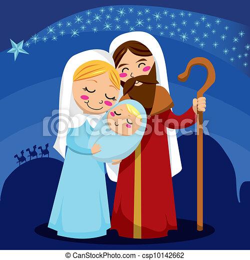 Nativity Scene - csp10142662