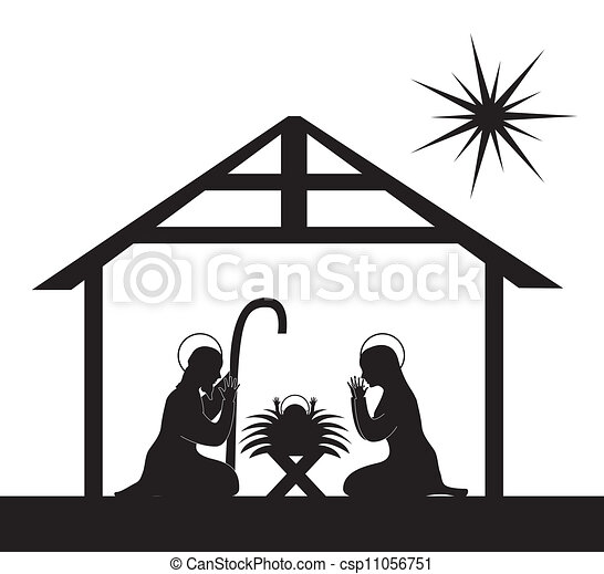 nativity scene - csp11056751