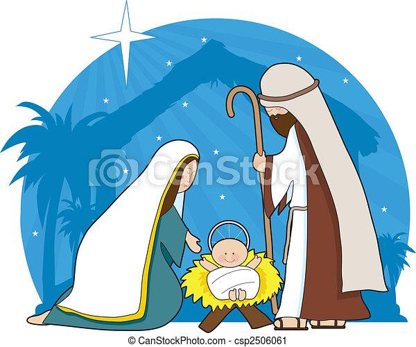 nativity táj - csp2506061