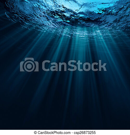 natural, abstratos, fundos, água, profundo - csp26873255