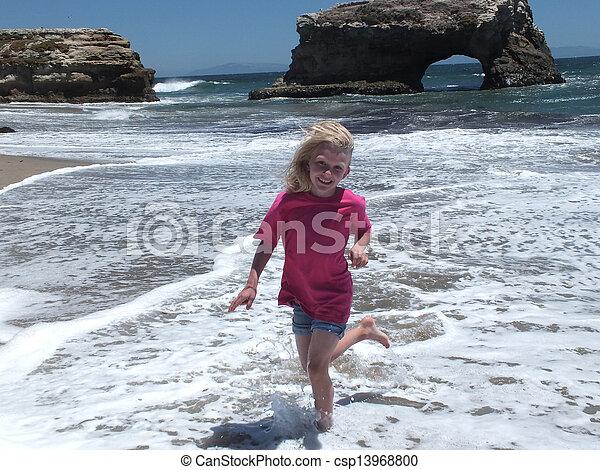 Natural Bridges State Beach - csp13968800