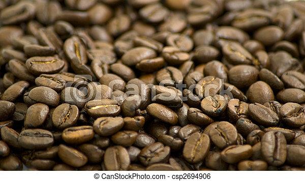 Natural coffee beans - csp2694906