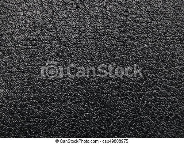 Natural Elegant Black Texture Background Material Upholstery Black