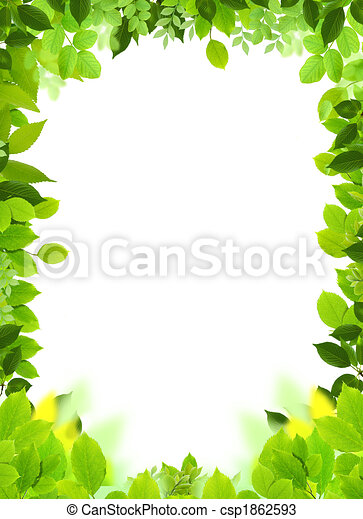 Natural frame and template. Natural design template. naturel heart ...