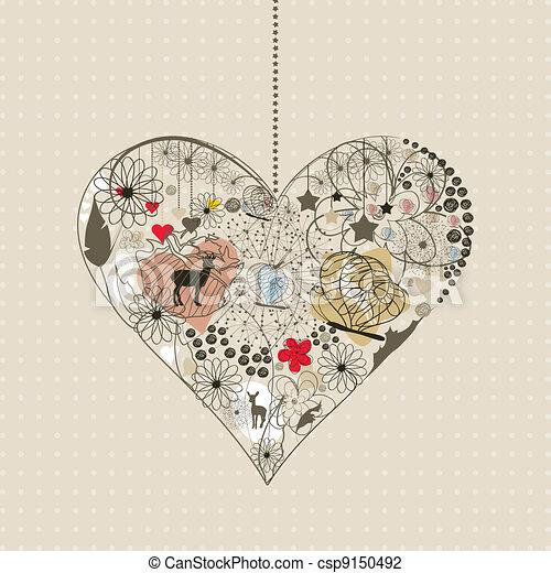 Natural heart - csp9150492