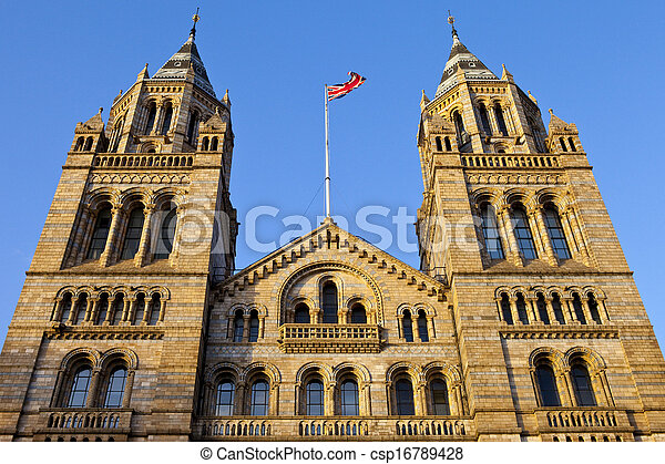 Natural History Museum in London - csp16789428