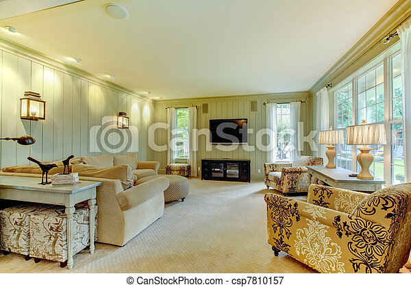 green cream living room luxury and green living room picture 13875