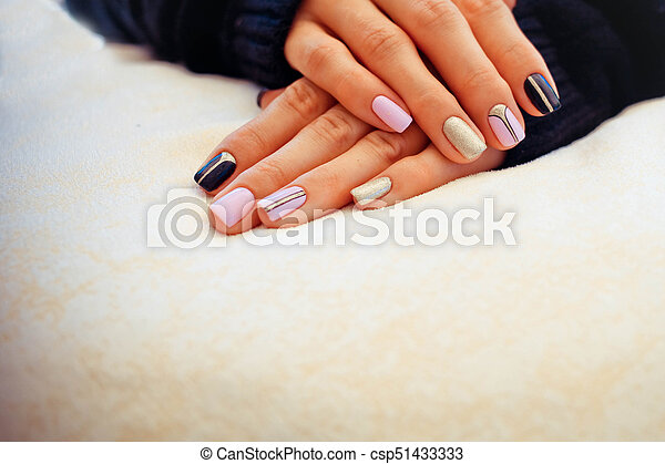 Natural Nails Gel Polish Perfect Clean Manicure With Zero Cuticle
