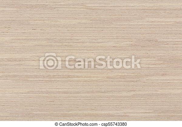 Natural Oak Veneer Texture On Macro