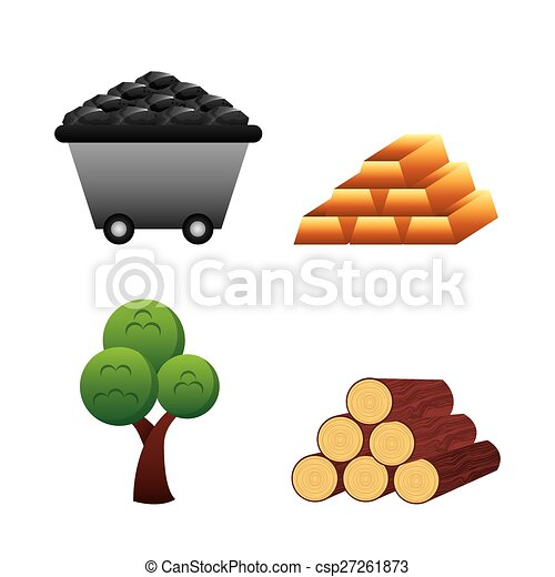 natural resources design vector illustration eps10 graphic rh canstockphoto com Art Resources Entrepreneurship Resources