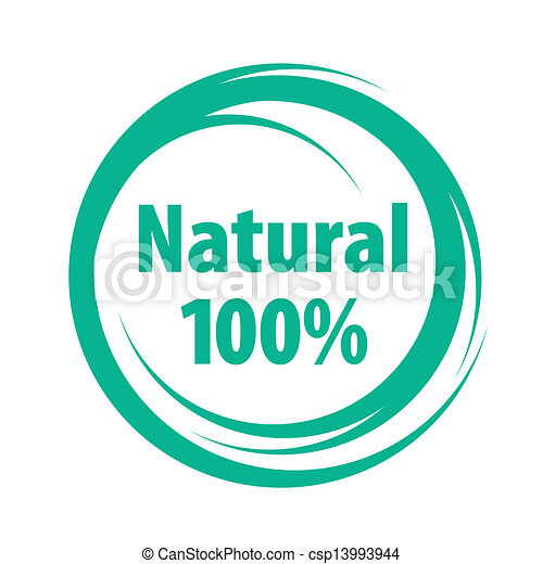 natural sign of quality - csp13993944