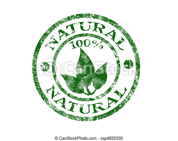 Natural stamp - csp4820330