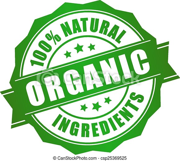 naturale, organico, icona - csp25369525