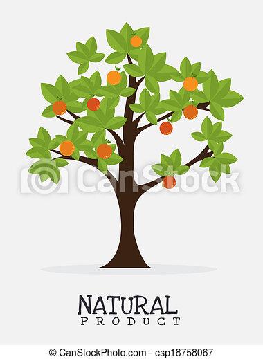 naturale, prodotto, disegno - csp18758067