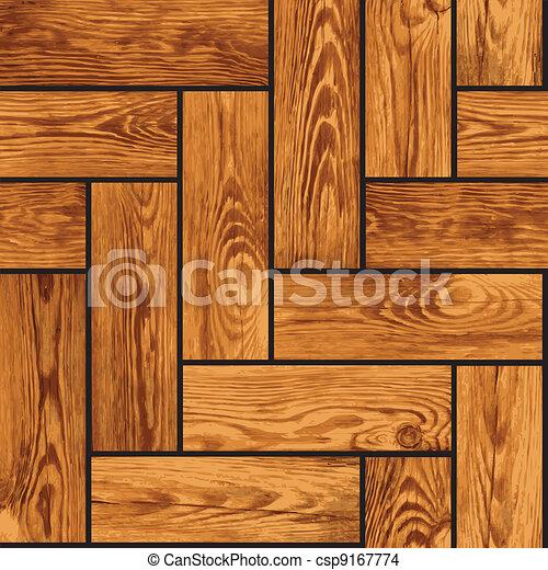 naturalistico, legno, -, seamless, struttura, parquet - csp9167774