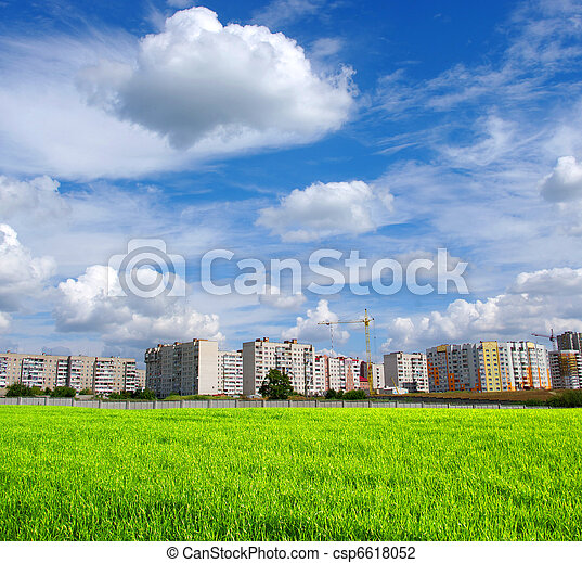 nature and buildings - csp6618052