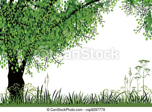 Nature background - csp9297779