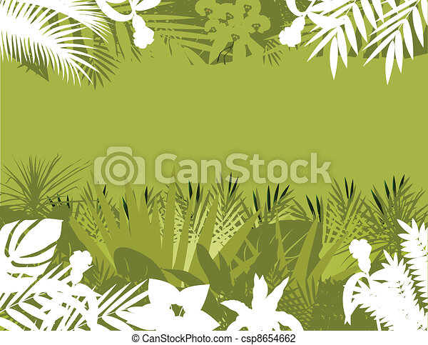 nature forest background - csp8654662