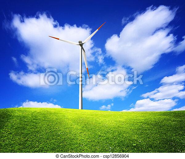 Nature green landscape - csp12856904