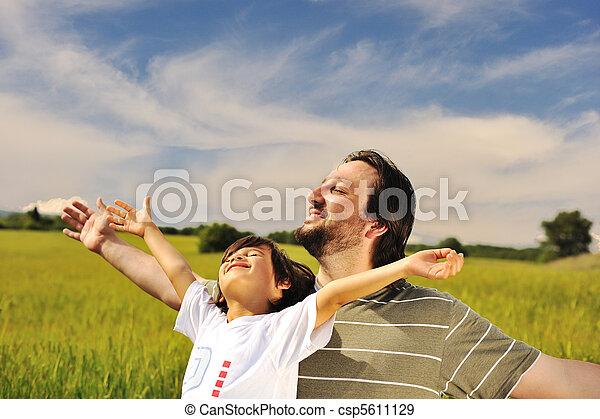 nature, liberté, avenir, humain, prêt, bonheur - csp5611129