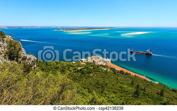 Nature Park Arrabida, Portugal. - csp42138239