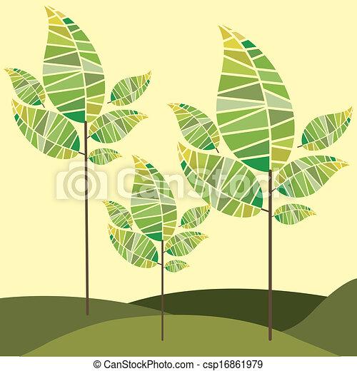 natureza, desenho - csp16861979