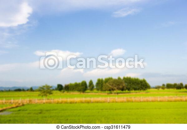 natuur, aanzicht - csp31611479