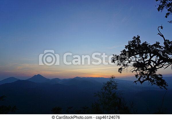 natuur, aanzicht - csp46124076