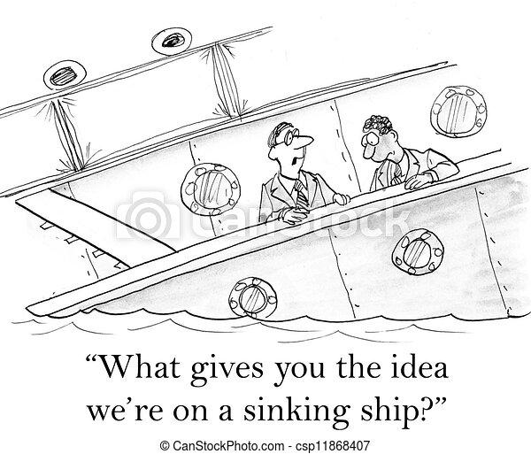 naufrage cadres titanic inquit csp11868407 - Dessin Titanic