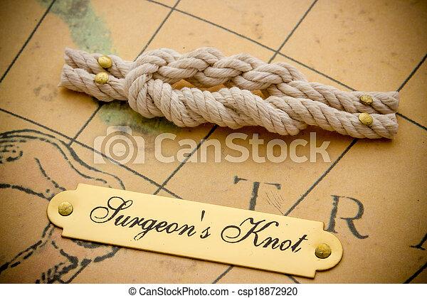 Nautical knots - csp18872920