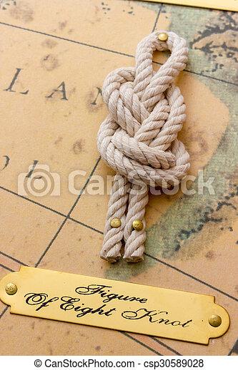 Nautical knots - csp30589028